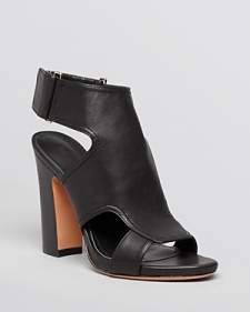Pour La Victoire Open Toe Platform Sandals - Echo Block Heel-Shoes
