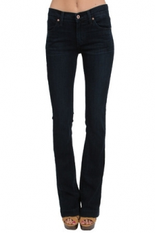 A wide leg cut gives these jeans a retro finish. Single button and zip fly closure. Fabric Content: 96.8% Cotton, 3.2% Elastin Fit: Stretch Cut: Wide Leg Inseam: Measures Approx. 34 Rise: Measures Approx. 9 Hardware: Single Button and Zip Fly Closure Product Care: Machine Wash Cold, Tumble Dry Low Designer Style No. 13488