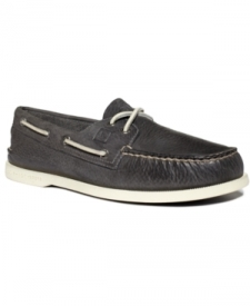 Sperry Top-Sider Authentic Original A/O 2-Eye Burnished Solid Shoes Men's Shoes Shoes MEN