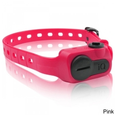 The No Bark Collar features include a learning vibration system that vibrates before any correction, which means a fast learning curve with less stimulation. The conductive plastic contact points are less intrusive on your dog's skin and are attached to a reduced size receiver. Color options: Pink, blue, black, purple Bark recognition sensor Replaceable coin lithium batteries (included) 10 levels of stimulation Brand: Dogtra Model: IQ-BARK Color: Black Materials: Plastic, electronics