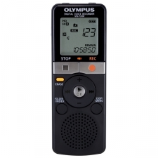 The VN-7200 combines the simplicity of analog recorders with Olympus' renowned audio technology. This digital voice recorder offers hundreds of hours of recording time, key features to help capture ideal recordings and functional design elements that make it a versatile tool for everything from the classroom to the boardroom. The VN-7200 recorder is the perfect reason to finally get rid of messy and unreliable tapes. High Quality Recording Modes Get Rid of Messy, Unreliable Tapes 1151 Hour Long Play 202 Hour Short Play Recording Modes 2GB Integrated Flash Memory Earphones, Microphones Model: VN-7200 Included items: VN-7200 2GB Digital Voice Recorder, Alkaline Battery Dimensions: 0.8x1.5x4.1 Weight: 2.30 ounces