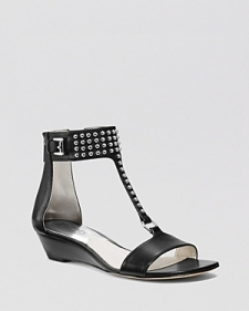 Michael Michael Kors Open Toe Demiwedge Sandals - Celena Studded-Shoes