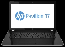 Mobile solutions for your digital life. HP Pavilion notebooks help you discover, create and enjoy multimedia experiences at work and play Manufacturer: Hewlett-Packard Manufacturer Part Number: F9L85UA#ABA Manufacturer Website Address: http://www. hp.com Brand Name: HP Product Line: Pavilion TouchSmart Product Series: 17-e100 Product Model: 17-e132nr Product Name: Pavilion 17-e132nr TouchSmart Notebook PC Product Type: Notebook Processor & Chipset: Processor Manufacturer: AMD Processor & Chipset: Processor Type: A-Series Processor & Chipset: Processor Model: A4-5000 Processor & Chipset: Processor Core: Quad-core (4 Core) Processor & Chipset: 64-bit Processing: Yes Memory: Memory Technology: DDR3L SDRAM Storage: Optical Drive Type: DVD-Writer Storage: Optical Media Supported: DVD-RAM/?R/?RW Display & Graphics: Display Screen Type: Active Matrix TFT Color LCD Display & Graphics: Display Screen Technology: BrightView Display & Graphics: Aspect Ratio: 16:9 Display & Graphics: Screen Mode: HD+ Display & Graphics: Backlight Technology: LED Display & Graphics: Touchscreen: Yes Display & Graphics: Graphics Controller Manufacturer: AMD