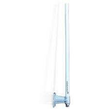The Amped Wireless High Power 8dBi Omni-Directional Outdoor WiFi Antenna is designed to increase the signal strength and range of your 2.4GHz 802.11b/g/n WiFi device in all directions. The high gain antenna provides Wi-Fi devices, such as routers, access points, adapters, repeaters and bridges, with more powerful, 360 degree, point to multipoint, WiFi coverage. The A8EX replaces the antenna on your existing WiFi device and concentrates your WiFi devices signal in all directions to cover distances of up to 1 mile. The High Power Outdoor Antenna Kit includes everything you need to mount the antenna outdoors on a wall or on a pole. Manufacturer: Amped Wireless Manufacturer Part Number: A8EX Manufacturer Website Address: http://www. ampedwireless.com Brand Name: Amped Wireless Product Model: A8EX Product Name: A8EX Antenna Product Type: Antenna Technical Information: Directivity: Omni-directional Technical Information: Frequency Band Type: UHF Interfaces/Ports: Connector Type: N-Type Application/Usage: Wireless Data Network Package Contents: A8EX Antenna 1 x Wall or Pole Mounting Kit 1 x Premium Surge Protector 1 x 3ft Jumper Cable (N-Type Male to RP-SMA) 1 x Setup Guide