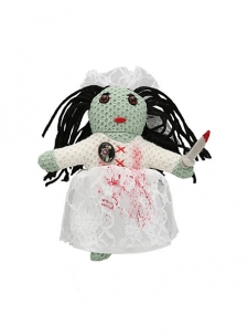 """Loyalty Juju that protects against bad breakups, bad blood between buddies & friends who are NOT!; Approx. 6"""" tall; Polyester fibers; Imported; FINAL SALE. NO RETURNS OR EXCHANGES"""