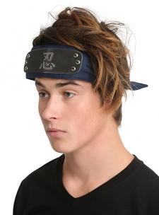 Headband with the shinobi army logo.; Imported