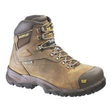 Waterproof full grain leather upper. Removable full cushion sock liner. Oil & slip resistant rubber outsole. Direct Attach construction. ASTM F2413-11 rated steel toe. Imported.