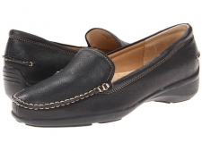 Comfort never goes out of style, and neither does the Zane loafer. Hand sewn stitch detail complements the rich leather upper. Soft microfiber lining and suede lining on the vamp. Nicely cushioned EVA footbed. Durable, shock-absorbing rubber sole. Imported. Measurements: Heel Height: 1 1 4 inWeight: 10 ozProduct measurements were taken using size 9, width W (D). Please note that measurements may vary by size.