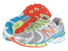 Go on and go the extra mile with confidence when you ride in the supportive W1260v3 from New Balance. Built for the moderate overpronator who requires a combination of enhanced cushioning and support. Breathable mesh upper with durable synthetic overlays. FantomFit is a skeletal upper design that supplies ultralight support. No-sew welded seams helps reduce irritation in the forefoot. Dual-density foam collar for comfortable heel support. N2 cushioning for durable, sustainable plush in a low-profile design. ACTEVA LITE midsole foam provides optimal compression resistance at a 24% lighter weight than comparable foams. Lightweight, flexible TPU T-Beam shank for enhanced torsional stability and arch support. Differential: 8 mm. Blow rubber outsole delivers light cushioning and reliable traction. Built on a PL-1 last which features a standard toe box width, toe box depth, instep height and heel width. Made in the U.S.A and imported. Measurements: Weight: 9 ozProduct measurements were taken using size 5, width B - Medium. Please note that measurements may vary by size.