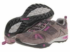 Style and performance merge together at last! Throw your clunky hiking shoes away and get carried away in the sleek Sky Lake WP from Teva. Light hiking shoe designed from the ground up to fit a woman's foot perfectly. Leather and Mesh Upper. Mush infused insole for superior comfort. Shoc Pad in the heel for serious shock absorption.T.I.D.E. Seal waterproof membrane keeps feet dry trekking through water. Spider365 rubber sole for grip in multiple environments. Nylon shank to keep the foot stable and in control. Imported. Measurements: Weight: 12 ozProduct measurements were taken using size 9, width B - Medium. Please note that measurements may vary by size.