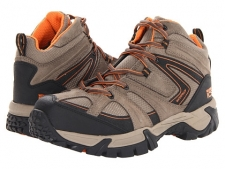 No matter what the environment, the Spoke ICSTM Waterproof Hiker Composite Toe by Wolverine has a superior design of durable leather, supportive comfort, and excellent traction to keep you secure and supported every step of every day. Waterproof suede upper featuring non-metallic hardware. Wave mesh lining with a waterproof membrane to keeps out the wet elements for a dry foot environment. Cement construction. Ortholite footbed with performance arch support and Wolverine ICS technology that provides maximum comfort and control. Compression molded EVA midsole for supportive comfort. Nylon shank provides lightweight support. Durable rubber outsole. Composite toe rated ASTM F2413-11 M I/75 C/75, EH standards. Measurements: Heel Height: 1 1 2 inWeight: 1 lb 4 ozShaft: 5 1 4 inPlatform Height: 1 inProduct measurements were taken using size 8, width D - Medium. Please note that measurements may vary by size.