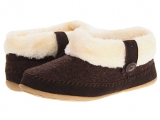 Please note: This style runs small. It is advised you order one size up from your normal size. Brave the cold winter weather by keeping your feet cozy and warm in these Daniel Green® slippers. Textile upper with a stylish faux fur cuff. Pull-on design allows for quick and easy on and off. Plush faux fur lining and a faux fur footbed that is cushioned for comfort. Lightweight and flexible rubber outsole for indoor or outdoor use. Imported. Measurements: Weight: 5 ozProduct measurements were taken using size 9, width M (B). Please note that measurements may vary by size.
