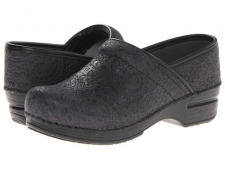 Your heel should lift up and down with every step, so if you are a half size, you may be more comfortable sizing up (for example, if you are a US 7.5, you may be more comfortable in an EU size 38).The Pro XP is part of the Dansko® XP Collection. The Pro XP clog from Dansko provides style and comfort to those in the nursing, hospitality and other occupational fields. This clog provides style and comfort to those in the nursing, hospitality and other occupational fields. Available in a variety of high quality leather uppers that follow the natural contours of the foot. For leather clogs, socklining is anti-microbial, leather. For non-leather clogs, lining is synthetic microfiber. Roomy toe box provides durable reinforcement and toe protection while allowing toes to move comfortably. Removable footbed may help accommodate a personal orthotic. Coring holes at the midsole reduce weight for a lighter feel with each step. Metal shank in the midsole provides reinforced construction for longer wear and lateral stability. Rocker bottom propels the foot forward when walking. Nitrile rubber outsole meets the highest standards of slip resistance and long-lasting durability. Measurements: Heel Height: 1 3 4 inWeight: 1 lbPlatform Height: 3 4 inProduct measurements were taken using size 42 (US Women's 11.5-12), width Regular. Please note that measurements may vary by size.