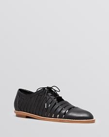 Loeffler Randall Oxford Flats - Fay Cutout-Shoes
