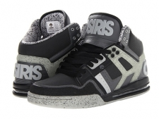 Cause a ruckus and save your heels at the same time with the comfortable Rucker kicks from Osiris! High-top design with reinforced high abrasion areas for superior durability. Uppers of synthetic leather and mesh. Traditional padded tongue and collar for added comfort and support. Combination lacing system for improved fit and styling. Cupsole construction with polyurethane midsole and air bag for maximum support. Duel-density blown polyurethane RX insole with full latex covering for optimum durability and fit. Abrasion-resistant rubber outsole for ideal wear and performance. Imported. Measurements: Heel Height: 1 1 2 inWeight: 1 lb 4 ozShaft: 4 1 2 inProduct measurements were taken using size 11.5, width D - Medium. Please note that measurements may vary by size.
