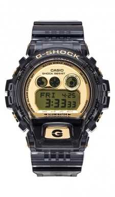 For over 25 years Casio G-Shock digital watches have been the ultimate in fashionably tough watches providing durable, waterproof digital watches for your every activity. Resin band. Case diameter measures 53.9mm. Case thickness measures 20.4mm. Stainless steel backing. Water resistant up to 20 BAR.