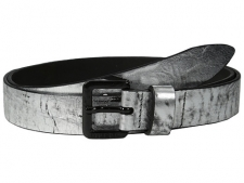 Mix things up with a hint of metallic from the Bosilv Belt. Constructed of leather. Silver-tone hardware. Single-prong buckle. Made in Italy. Measurements: Width: 1 inFirst Hole Length: 38 inLast Hole Length: 42 inWeight: 4 ozProduct measurements were taken using size 105 (42 Waist). Please note that measurements may vary by size.