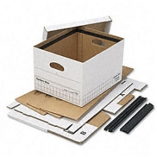 Hang 'n Stor storage boxes are ideal for home or the office Boxes allow you to easily transfer hanging files to inactive storage Basic-strength filing accessory is for legal/letter size paper and folders Plastic channels allow folders to glide smoothly for easy access 300-pound stacking weight when evenly distributed Made with recycled content Carton includes four boxes Available in white/blue color option Each box measures 12.5 inches wide x 10.5 inches high x 15.75 inches deep