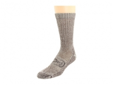 Now your favorite style socks have caught up to today's tech. The Targhee Lite Crew by Keen is the old-school style you love with all the technical features and construction you're looking for. Seamless toe in the flex zone helps avoid bunching. Left and right design offers optimal fit and comfort. Materials: 60% Merino wool, 36% nylon, 4% spandex. Machine wash warm inside out and tumble dry low. Made in the USA and imported.