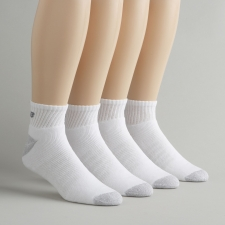 These unisex quarter sock are made with the New Balance Lightning Dry moisture wicking fiber to keep your feet dry no matter what you are doing.