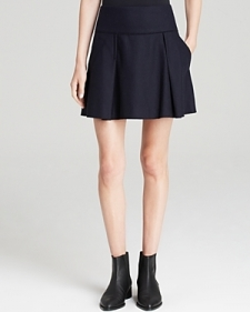 Vince Skirt - Pleated-Contemporary