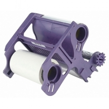 Add to your scrapbooking materials with this Xyron 250 refill cartridge Refill cartridge allows you continued use of your laminate/adhesive machine Scrapbooking accessory laminates one side and applies adhesive to the other Adhesive is acid-free Great for signs, temporary labels, and reminders Applies an even edge to edge layer of repositionable adhesive up to 8.5 inches wide Items can be placed removed and repositioned without residue Great for kids' projects, stenciling and temporary decor Refill provides 20 feet of material Fits into a Xyron 250
