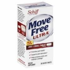 This Move Free contains UC-II, a breakthrough new ingredient that helps you to get relief from your achy joints in just one small, easy-to-swallow tablet. Intended use: Helps overall bone and and joint movement Brand: Move Free Active ingredients: UC-II, cartilage 40 mg, hyaluronic acid 3.3 mg We cannot accept returns on this product. The content on this site is not intended to substitute for the advice of a qualified physician, pharmacist, or other licensed health-care professional. The products may have additional information and instructions on or inside the packaging that you should carefully read and follow. Contact your health-care provider immediately if you suspect that you have a medical problem. This product may not have been evaluated by the Food and Drug Administration and is not intended to diagnose, treat, cure, or prevent any disease or health condition.