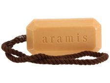 This hard-milled soap from Aramis leaves skin feeling sultry and clean. The soap is scented with Aramis Classic, which is a skillfully blended fragrance of aromatic woods, exotic spices, herbs and leather accents. Brand: Aramis Size: 5.7 ounces Features: woods, exotic spices, herbs and leather accents One item per pack