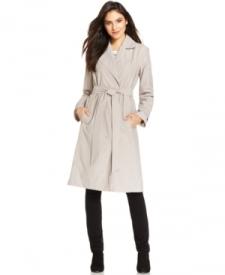 Eileen Fisher Notched Collar Trench Coat Women Women's Clothing - Coats