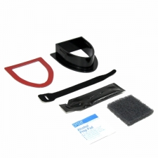 This Transducer Mounting Hardware is designed for installation in a Kayak. This kit includes surface preparation products in addition to a transducer cradle and adhesive products. Set includes: Transducer cradle, surface preparation products, and adhesive Brand: Humminbird Model: 740103-1 Materials: Plastic Color: Black Dimensions: 14.8 inches high x 7.8 inches wide x 9.3 inches deep Weight: 1 pound