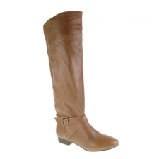 Spring into the Street with these over the knee boots. The Spring Street will hit all aspects of your wardrobe whether it be pants shorts or dresses. Hitting just below the knee the Spring Street features a 1/2 heel and buckled strap at the ankle. From tights to bare legs these boots will take you throughout the year. 12 Shaft 11 Circumference