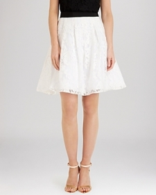 Ted Baker Skirt - Totie Floral Lace-Contemporary