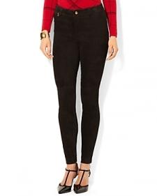 Lauren Ralph Lauren Suede Front Pants-Women