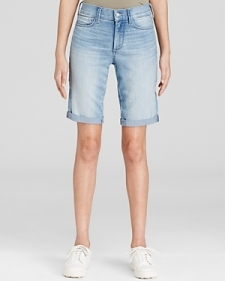 Nydj Briella Cuffed Denim Shorts in Manhattan Beach-Women