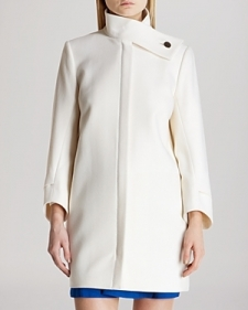 Ted Baker Coat - Weria Funnel Neck-Contemporary