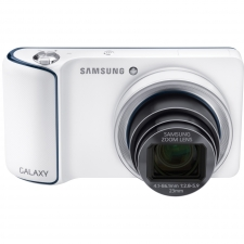 Samsung GALAXY EK-GC110 - Digital camera - compact - 16.3 Mpix - 21 x optical zoom - flash 8 GB - Wi-Fi - white